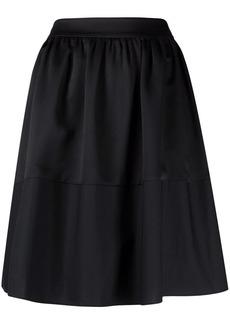 Armani Exchange A-line cotton skirt