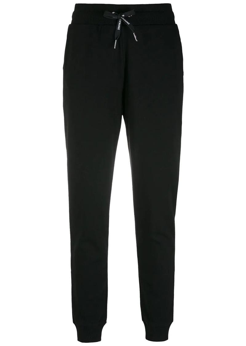 Armani Exchange drawstring-waist trousers