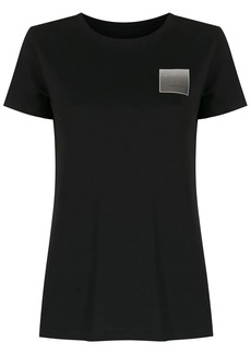 Armani Exchange logo-patch T-shirt