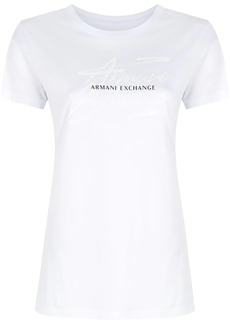 Armani Exchange logo-print T-shirt