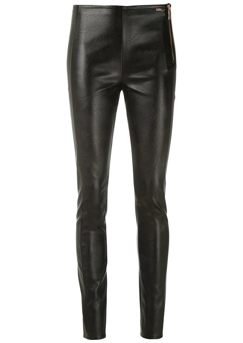 Armani Exchange side-zip skinny trousers