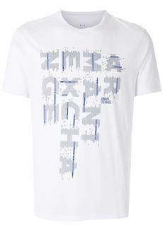 Armani Exchange logo-print short-sleeve T-shirt