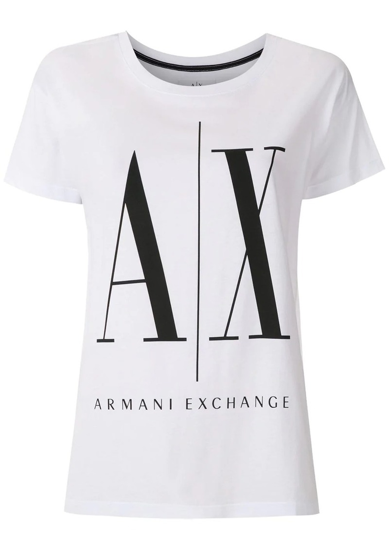 Armani Exchange logo print T-shirt
