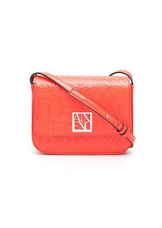 Armani Exchange all-over embossed logo bag
