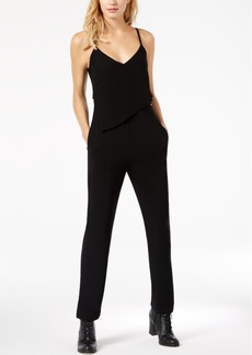 Armani Exchange Asymmetrical Popover Jumpsuit