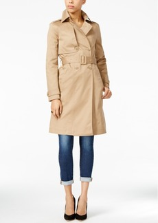 Armani Exchange Belted Trench Coat