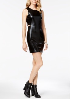 Armani Exchange Bodycon Side-Cutout Dress