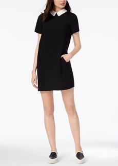 Armani Exchange Collared Tunic Dress