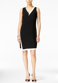 Armani Exchange Colorblocked Envelope Dress