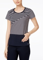 Armani Exchange Cotton Striped T-Shirt