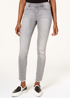 Armani Exchange Distressed Skinny Jeans