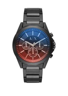 Armani Exchange Drexler Stainless Steel Chronograph Bracelet Watch