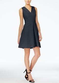 Armani Exchange Fit & Flare Dress