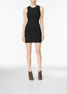 Armani Exchange Fringe Sweater Dress