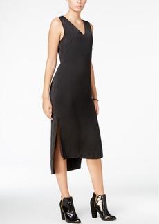 Armani Exchange High-Low Midi Dress