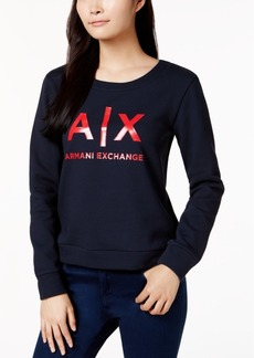 Armani Exchange Logo-Print Sweatshirt
