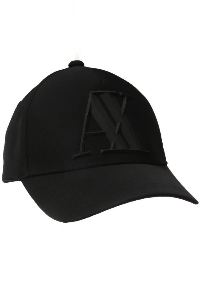 f74c3abc3 Men's 3d Rubber Ax Tonal Logo Baseball Hat Black