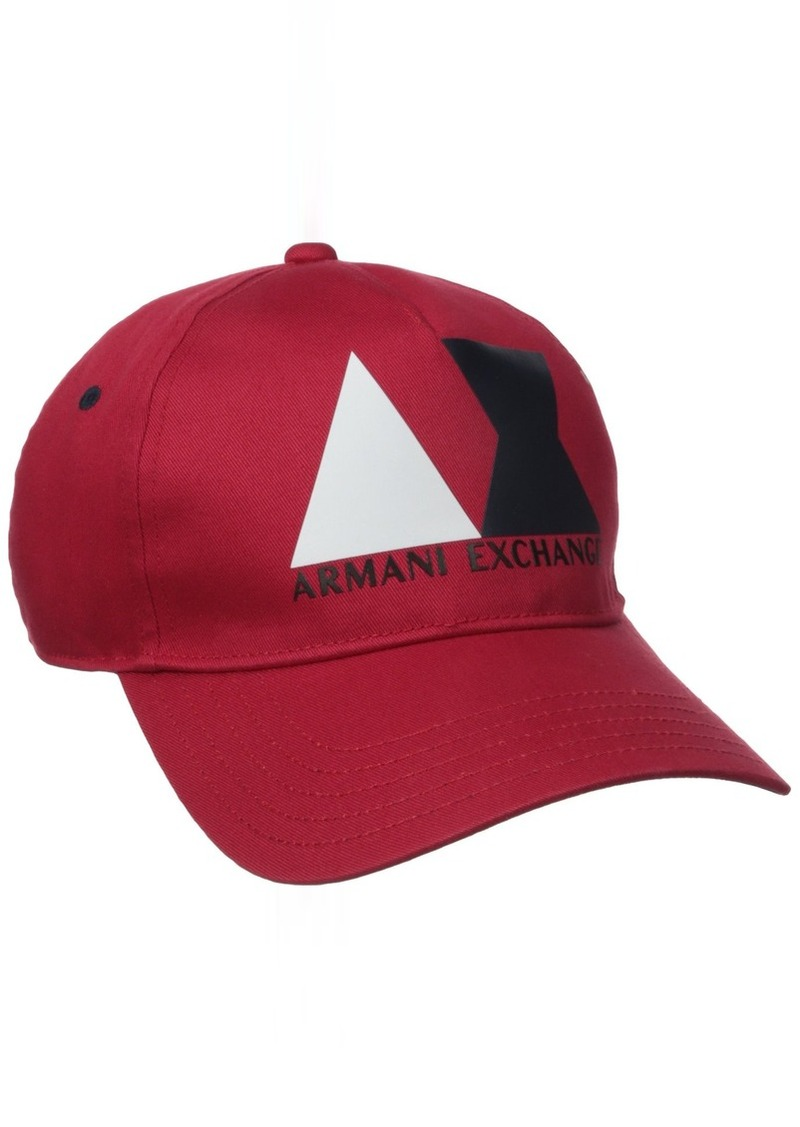 dbf6ff323d4 Armani Exchange Armani Exchange Men s Ax Block Logo Baseball Hat ...