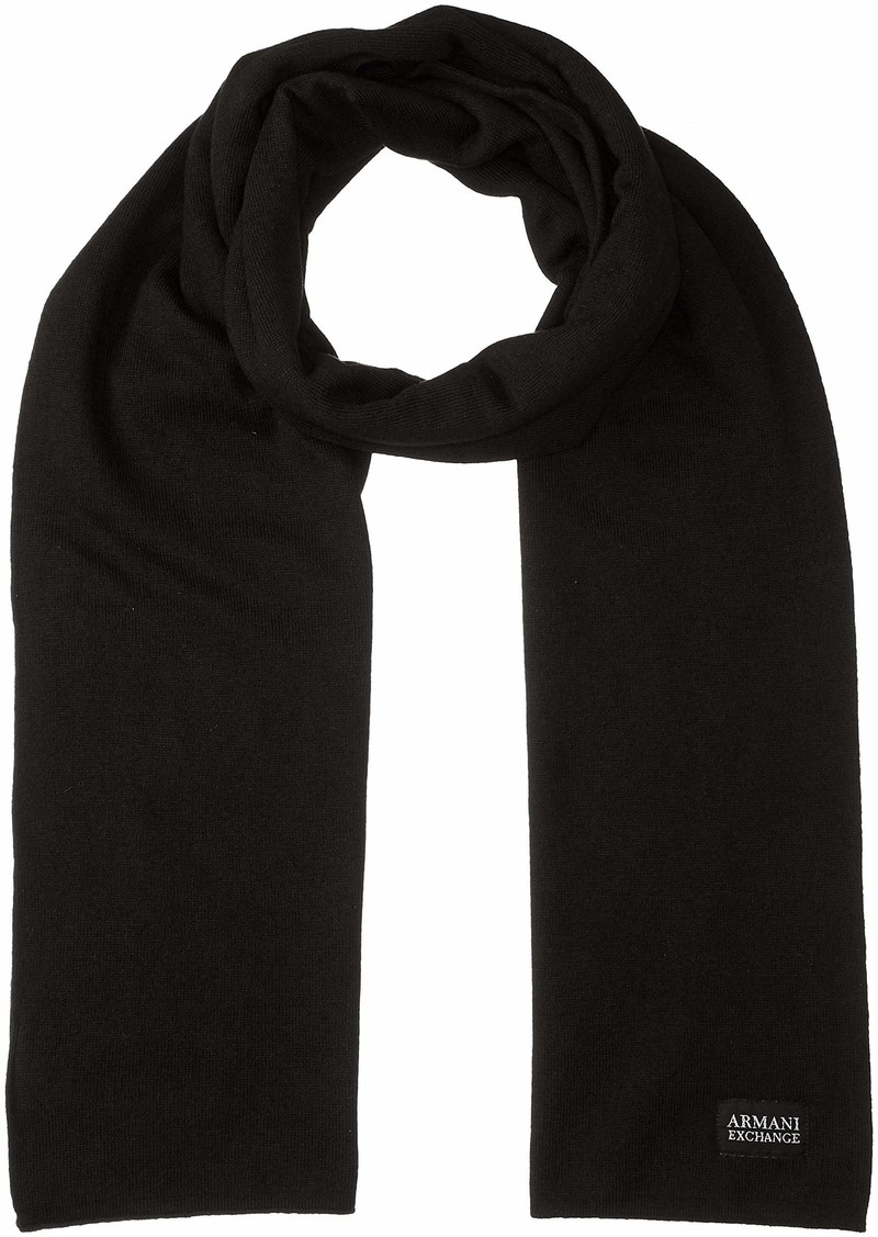 Armani Exchange Men's AX Cashmere Scarf  ONE Size