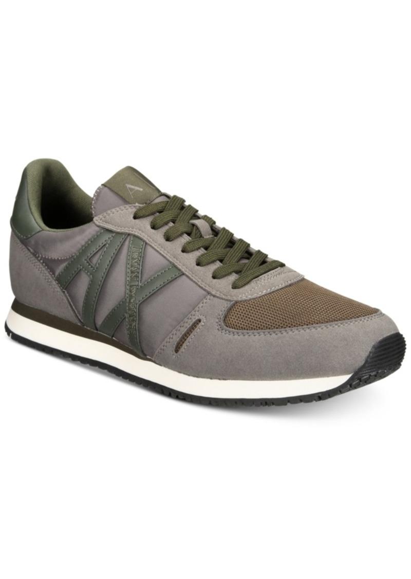71e51fc1f Armani Exchange Armani Exchange Men s Ax Jogger Sneakers Men s Shoes ...