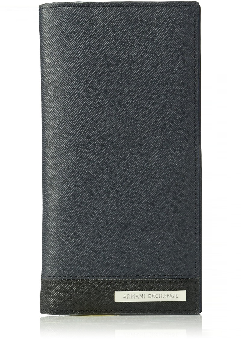 efc8c18457 Men's Bicolor Saffiano Continental Wallet