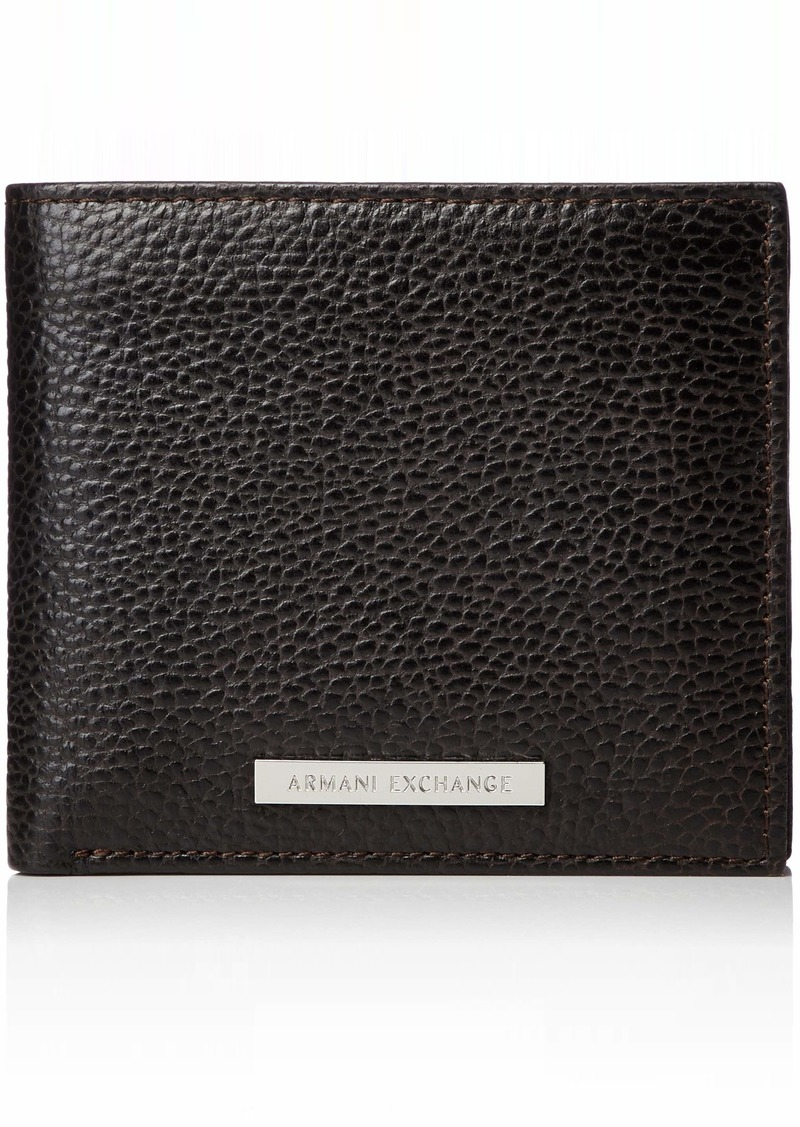 Armani Exchange Men's Bifold Credit Card Wallet