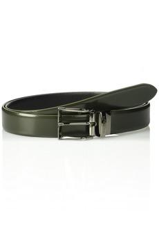 Armani Exchange Men's Brushed & Smooth Leather Belt  ONE Size