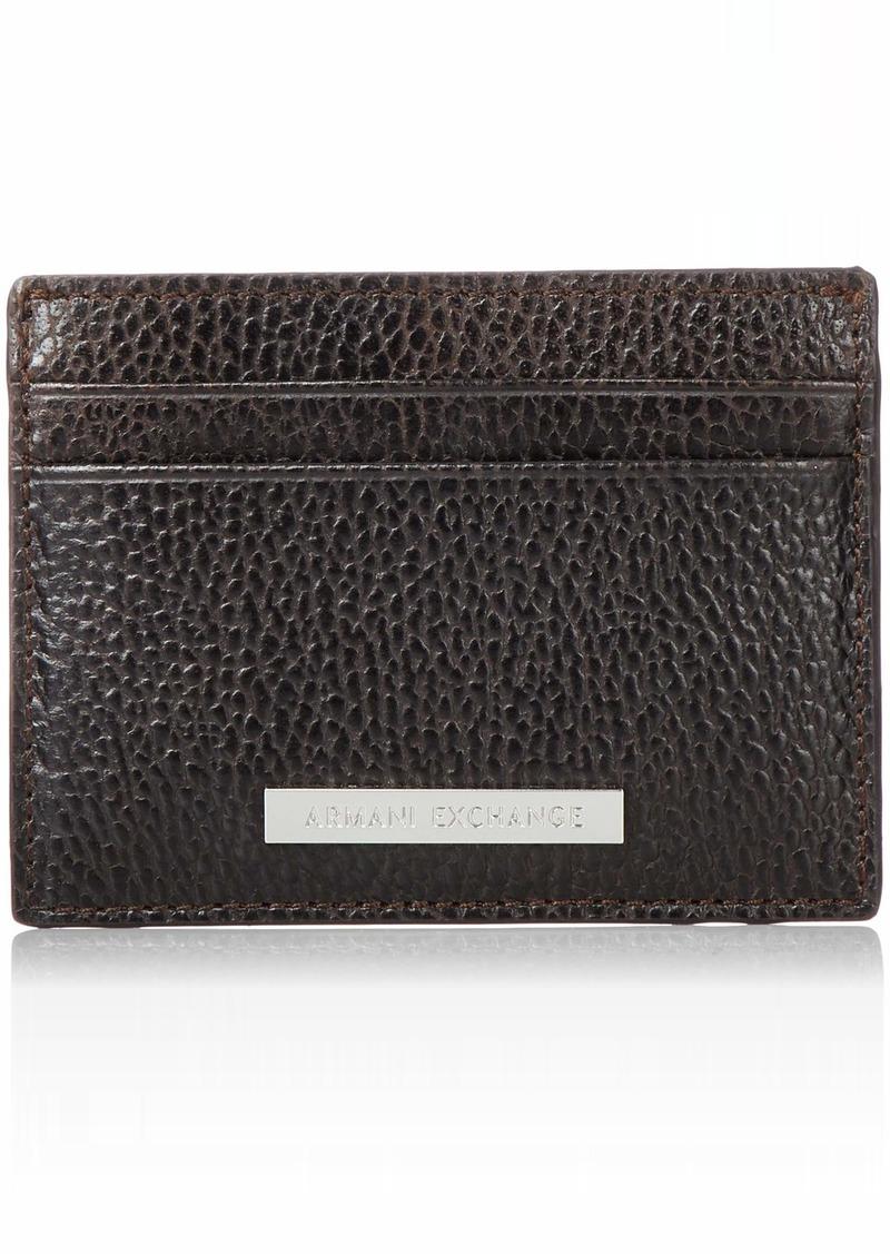 Armani Exchange Men's Credit Card Holder
