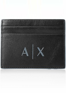 Armani Exchange Men's Credit Card Holder nero/black