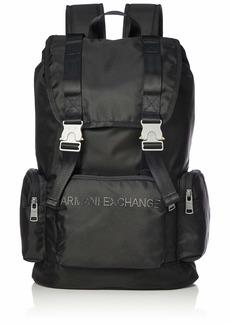 Armani Exchange Men's Drawstring Backpack nero/black