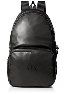 Armani Exchange Men's Eco-Nappa Backpack
