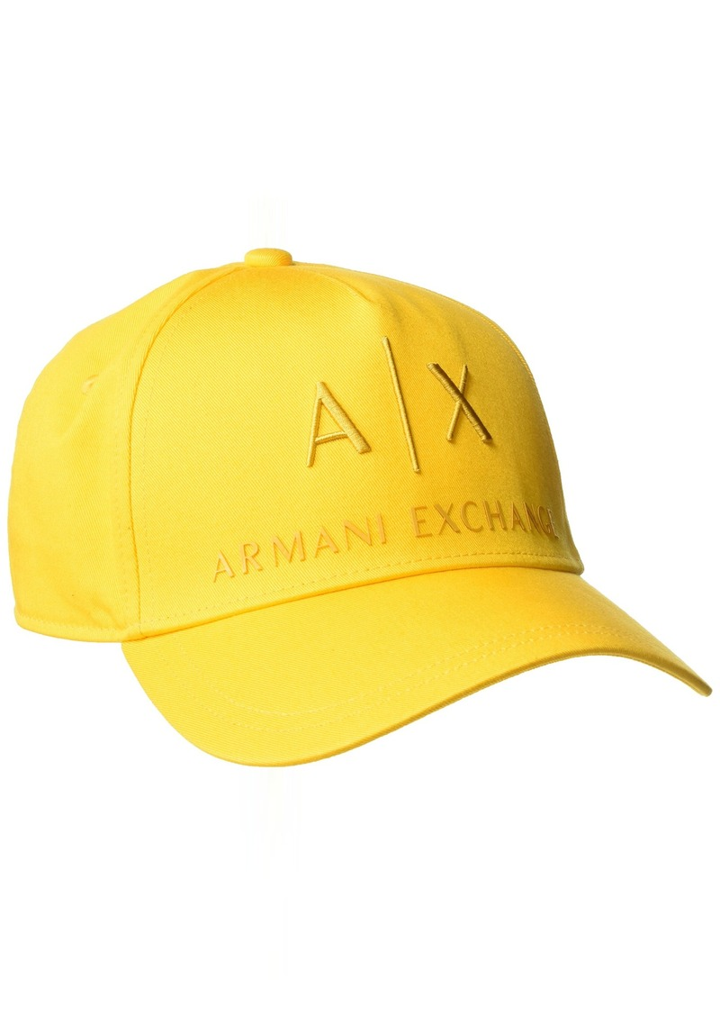 d0c9b4c3e98 Armani Exchange Armani Exchange Men s Embroidered Logo Hat