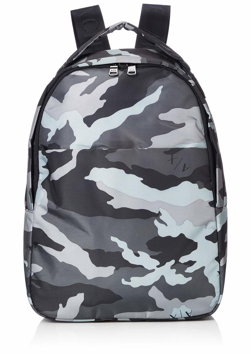 Armani Exchange Men's Graphic Backpack