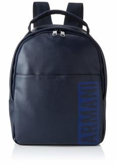 Armani Exchange Men's Graphic Backpack Navy
