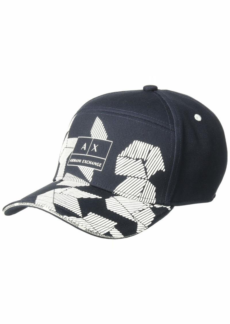 Armani Exchange Men's Graphic Logo Hat