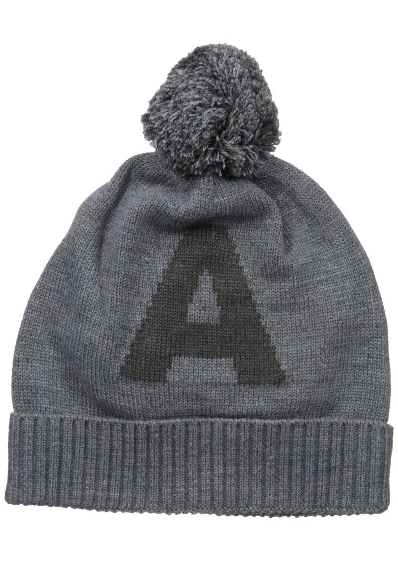 039681c40b4 SALE! Armani Exchange Armani Exchange Men s Knit Oversized  a  Pom Hat