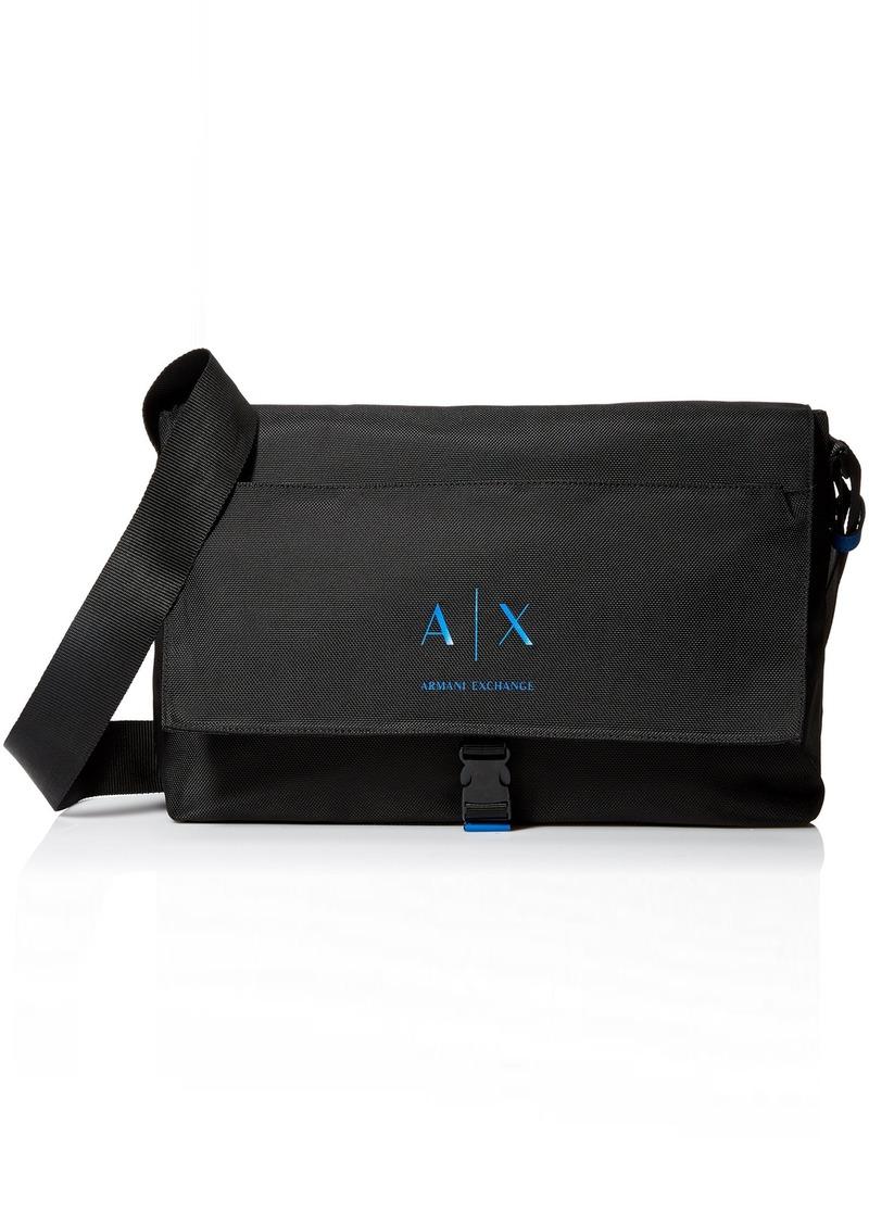 Armani Exchange Men's Large Messenger Bag