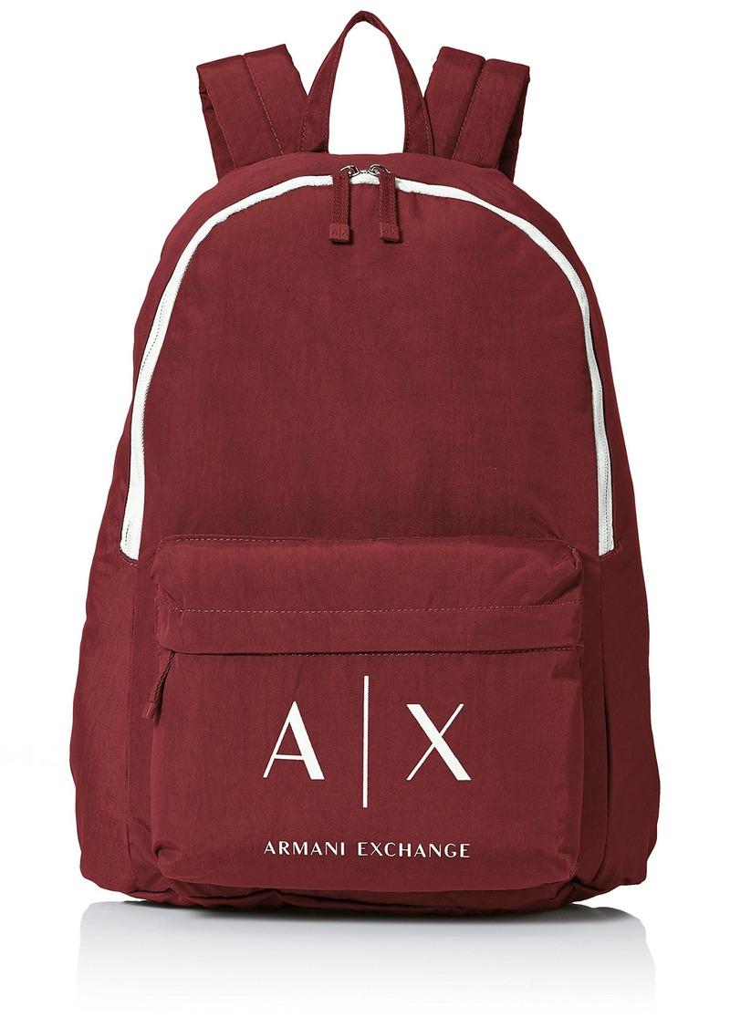 ad34cd522c4c Armani Exchange Armani Exchange Men s Logo Backpack