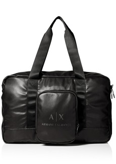 Armani Exchange Men's Logo Duffle Bag