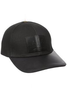 Armani Exchange Men's Logo Patch Hat