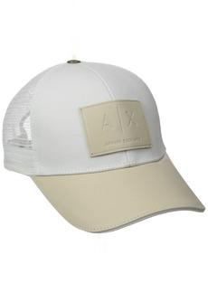 Armani Exchange Men's Logo Patch Mesh Hat