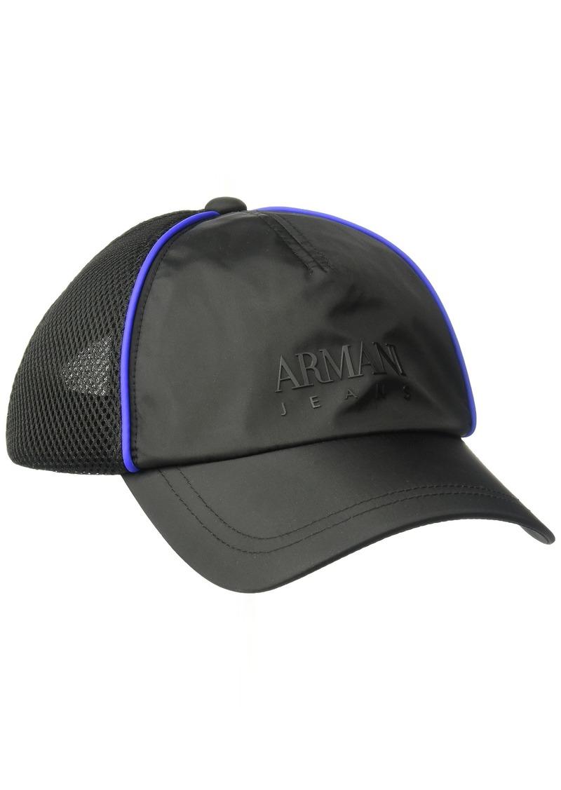 Armani Exchange Men's Mesh Embroidered Logo Baseball Cap  ONE Size