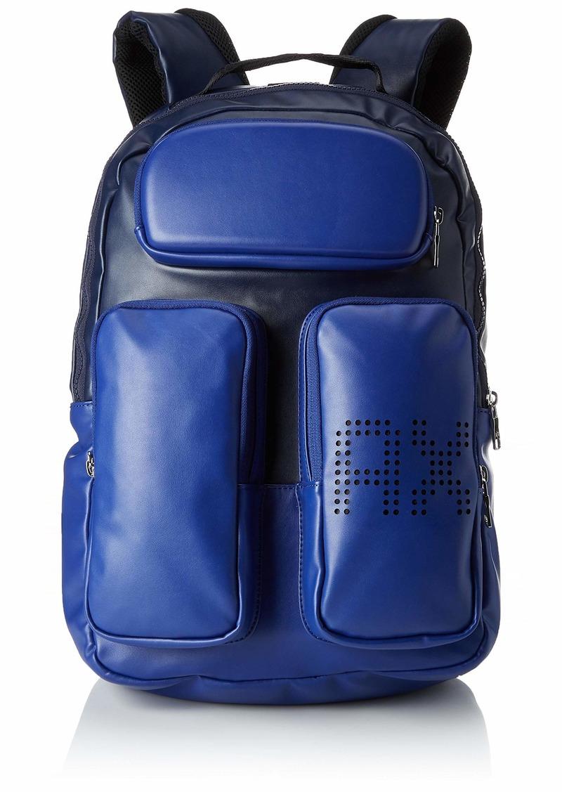 Armani Exchange Men's Multi Pocket Backpack marine/navy