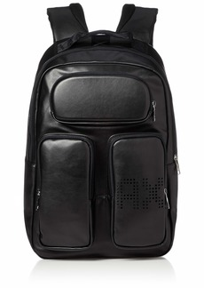 Armani Exchange Men's Multi Pocket Backpack nero/black