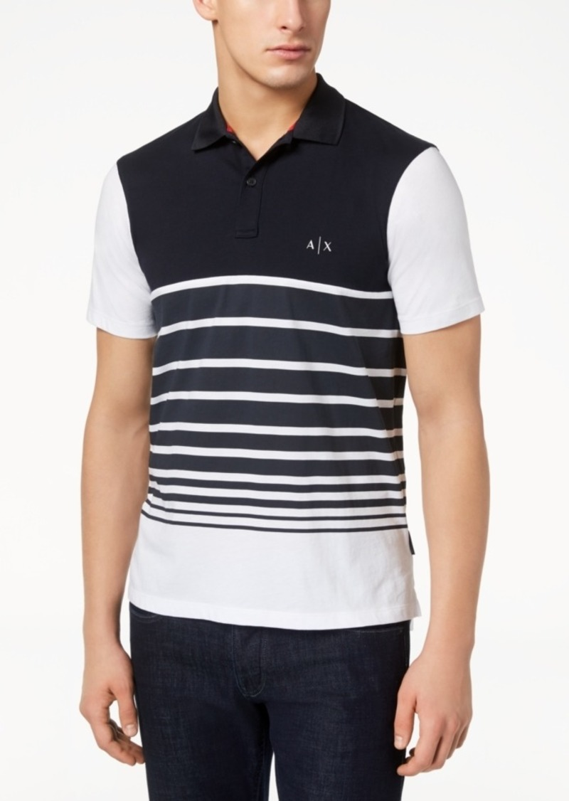 8631560ee150 Striped Polo Tee Macys