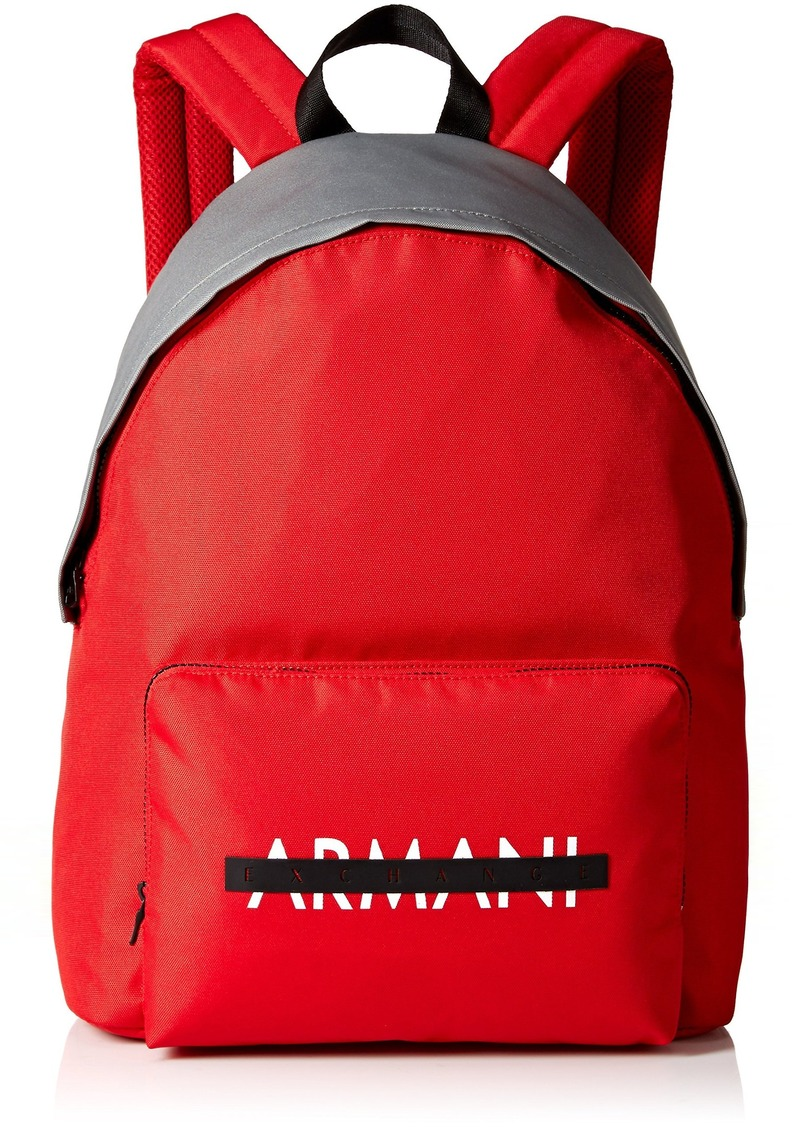 721cb81595d SALE! Armani Exchange Armani Exchange Men s Nylon Logo Graphic Backpack