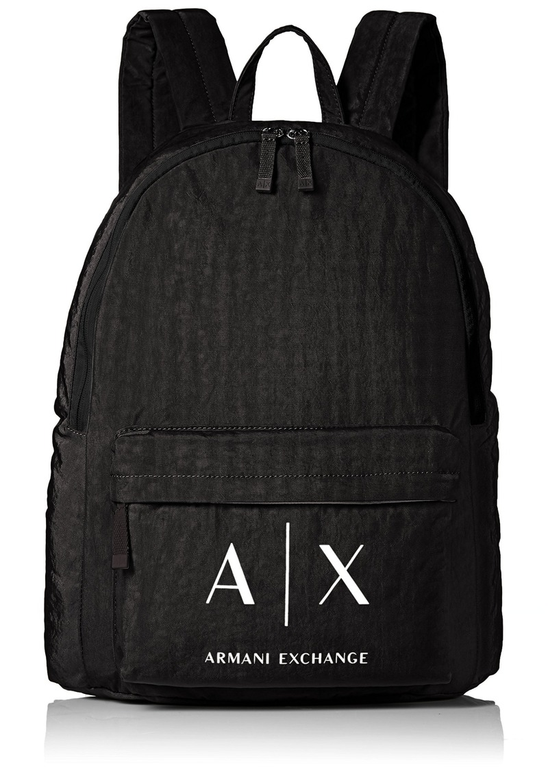 Armani Exchange Armani Exchange Men s Nylon Snap Closure Backpack  e88a63cae21ce