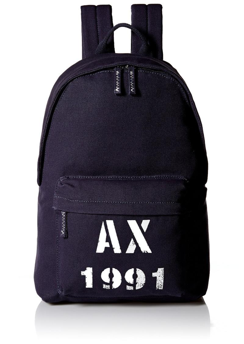 4fa7eba8139a Armani Exchange Armani Exchange Men s Printed Ax Logo Canvas Classic ...