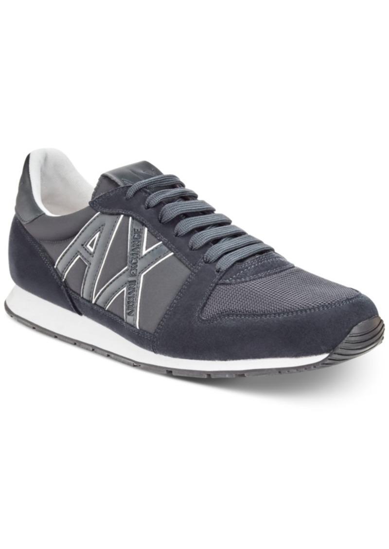 d2214f53c Armani Exchange Armani Exchange Men s Retro Running Sneakers Men s ...