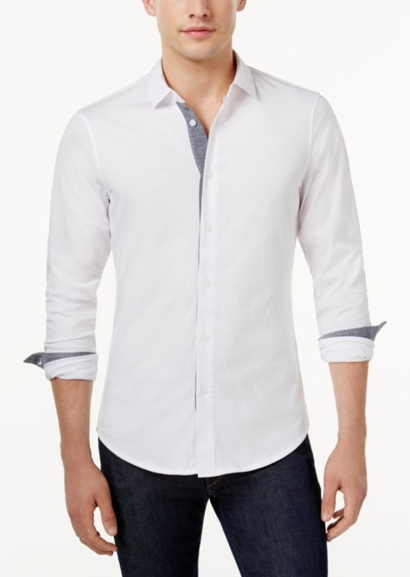 df811ce2da Armani Exchange Armani Exchange Men s Slim-Fit Shirt
